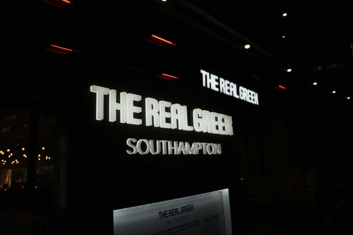 The Real Greek | Southampton Westquay Watermark | Review
